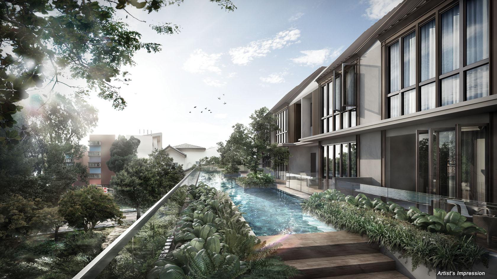 Park Suites Site Plan Pool