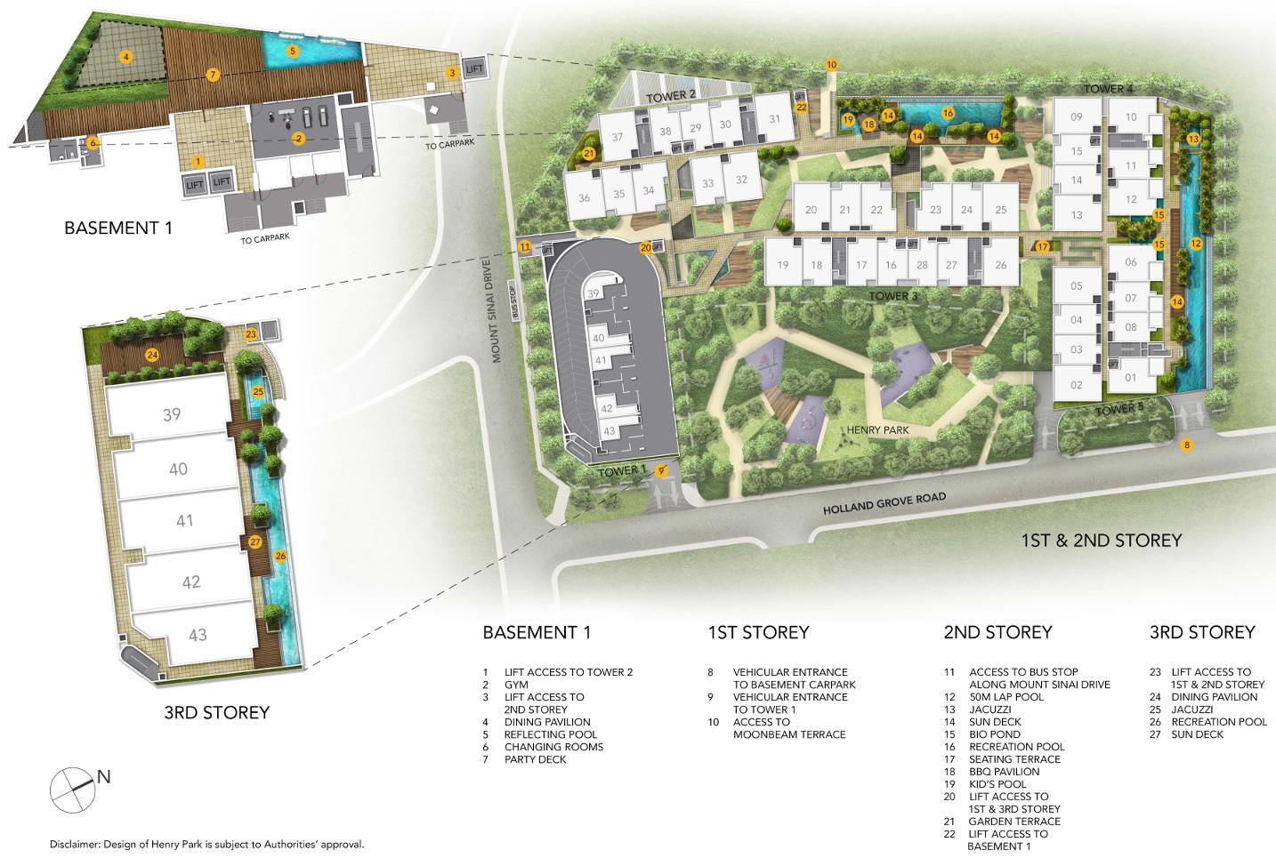 ParkSuites Site Plan Layout
